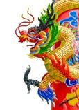 kinesisk drakestatystil Royaltyfri Foto