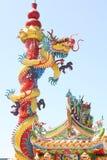 kinesisk drakestatystil Royaltyfri Fotografi