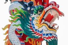 kinesisk drakestatystil Arkivbilder