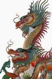 kinesisk drakestatystil Arkivfoto