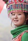 kinesisk etnisk flicka Royaltyfri Bild