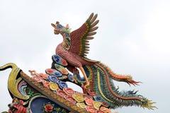 kinesisk färgrik drake Royaltyfri Bild