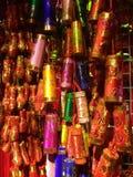 Kinesisk för brandsmällare för nytt år garnering Shanghai Royaltyfria Foton