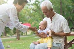 Kinesisk farfar och farmor Royaltyfri Bild