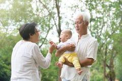 Kinesisk farfar och farmor Royaltyfri Fotografi