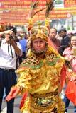 Kinesisk festival 2016, Bangkok, Thailand för nytt år Arkivbilder
