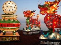 kinesisk festivallykta Fotografering för Bildbyråer