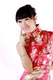 kinesisk flicka Arkivfoton
