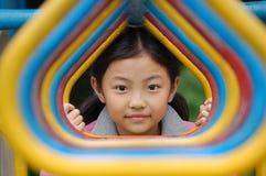 kinesisk flicka little Arkivbild