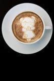 Kinesisk flicka sena Art Coffee för nytt år Arkivfoto