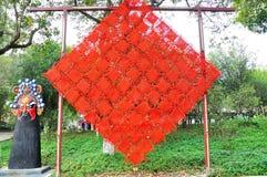 Kinesisk fnurra Royaltyfri Bild
