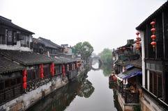 Kinesisk forntida by Royaltyfri Fotografi