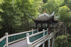 Kinesisk forntida arkitektur Royaltyfria Bilder