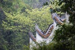 Kinesisk forntida arkitektur Royaltyfri Bild