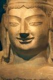 Kinesisk forntida Buddhastaty Arkivfoto