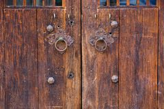 Kinesisk forntida dörr Royaltyfria Foton