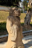 Kinesisk forntida drakemodertempel, Longmu tempel royaltyfria foton