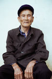 Kinesisk gamal man Royaltyfri Foto