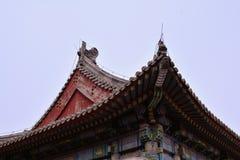 Kinesisk gammal arkitektur Royaltyfri Bild