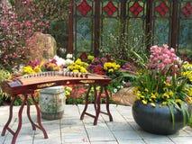 kinesisk garnering Arkivfoto