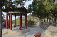 kinesisk gazebo Arkivfoto