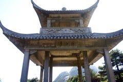 Kinesisk gloriette arkivbilder