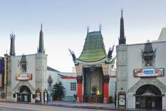 kinesisk grauman hollywood s teater arkivbild