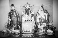 Kinesisk gudinna som namnges 'Hock Lok Siew ', royaltyfri foto
