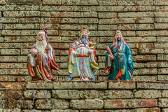 Kinesisk gudstaty Royaltyfria Bilder