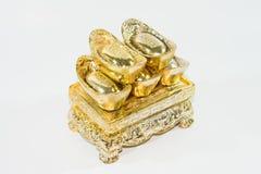 kinesisk guld Fotografering för Bildbyråer