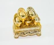 kinesisk guld Royaltyfri Fotografi