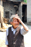 kinesisk hög kvinna Arkivbilder