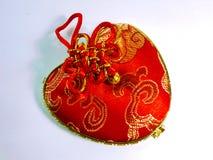 Kinesisk handgjord påse Arkivfoto