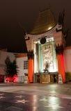 kinesisk hollywood nattteater royaltyfri foto