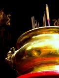 kinesisk incence royaltyfria bilder