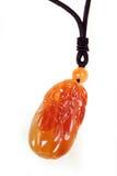 Kinesisk jadehänge Arkivfoto