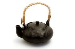 kinesisk japansk teapot Arkivbild