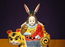 Kinesisk kaninToy Royaltyfri Foto