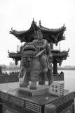 Kinesisk kejsare på sjön royaltyfria foton