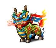 kinesisk kirin Fotografering för Bildbyråer