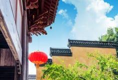 Kinesisk klassiekearchitectuur Royaltyfri Foto