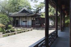 Kinesisk klassisk arkitektur Arkivfoton
