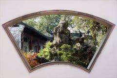 kinesisk klassisk trädgård arkivbild