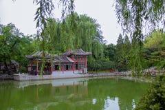 Kinesisk klassisk trädgård Arkivbilder