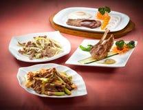 kinesisk kokkonst royaltyfri fotografi