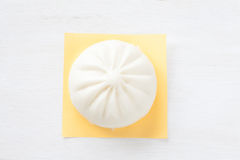 Kinesisk kokkonst ångad bulle Royaltyfri Fotografi