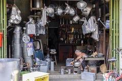 Kinesisk kommers Fotografering för Bildbyråer