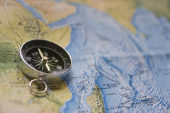 kinesisk kompassöversikt Royaltyfri Fotografi