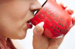 kinesisk kopp Arkivbilder