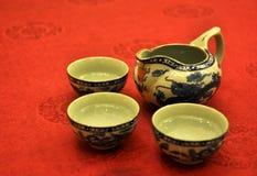 kinesisk koppteapot Royaltyfri Foto